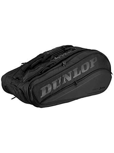 DUNLOP-CX Performance 15 Pack Tennis Bag Black-(045566908476)