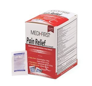 Pain Stoppers Extra Strength Pain Reliever w/Aspirin 250Ct ()