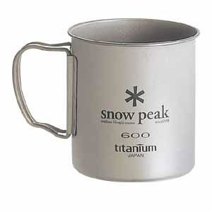 Snow Peak Titanium Single 600 Wall Cup - 600 ml