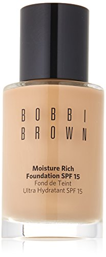 1 Ounce Moisture Rich Foundation (Bobbi Brown Moisture Rich Foundation SPF15, No. 3 Beige, 1 Ounce)