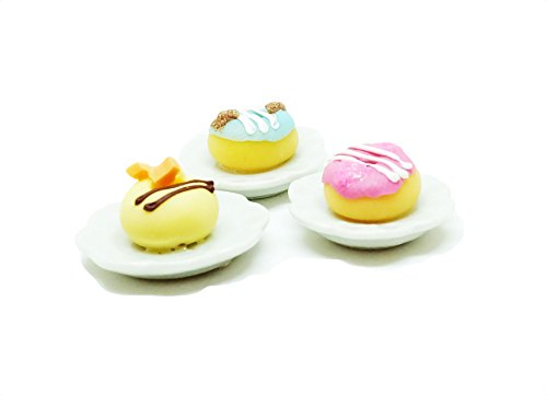 a-little-tiny-world-dollhouse-miniature-food-tiny-food-collectibles-donut-recipe-set-of-3