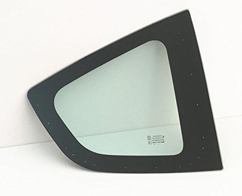 (NAGD Fits 2009-2014 Honda Fit Passenger Right Side Quarter Window Quarter Glass)