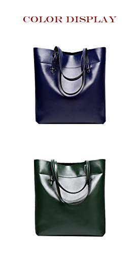 Main À Sacs Cuir Sac Hjly Leather Diagonale Cire Bandoulière Huile Pour Nouveau Dames Bleu Royal En 5qExwtUw