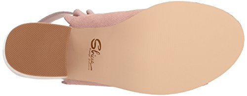Heeled Blush Women's Frilly Sbicca Sandal nfxq7YHw0R