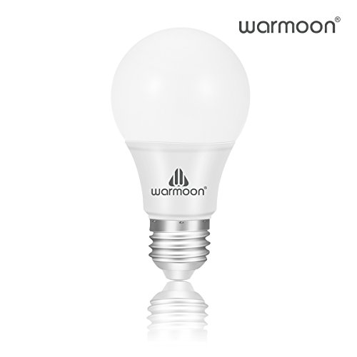 Warmoon LED Light Bulbs, 7W DSW 3-in-1 White Non Dimmable LED Bulbs 60W Equivalent E26 Base Energy Saving Light Bulbs for Table Lamps Floor Lamps Pendant Fixtures Ceiling Fixtures - (Pendant 1 Light 60w Fan)
