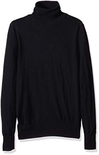 J.Crew Mercantile Women's Merino Turtleneck Sweater, Black, M ()