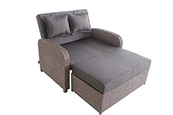 Greemotion Rattan Lounge Bali, Sofa U0026 Bett Aus Polyrattan, Indoor U0026 Outdoor,