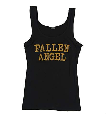 Three Days Grace Fallen Angel Girls Juniors Black Tank Top Shirt (L)
