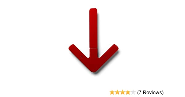 Amazon.com: Design House Stockholm Design House Arrow Hanger (red): Kitchen  U0026 Dining
