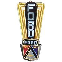 Ford Logo Metal Sign Large