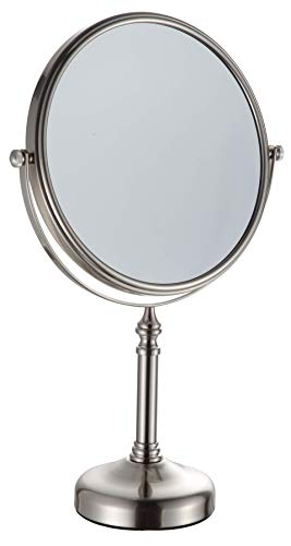 KAIIY 6 Inch Cosmetic Mirror Magnifying Vanity Table Mirror Two-Sided Swivel 5X Magnification for Makeup, 12 Inches…