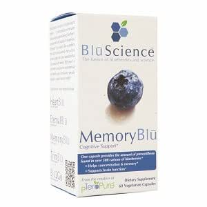 Blu Science Memory Blu Cognitive Support 60 Vegetarian Capsules