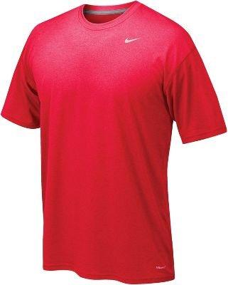 Nike Men's Legend Short Sleeve Tee, Scarlet, S