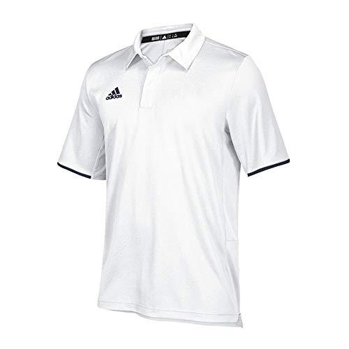 - adidas University of TN Chattanooga Coaches Polo - Men's Multi-Sport L White/Collegiate Navy