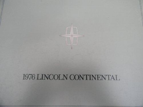 1976 Lincoln Continental Sales Brochure