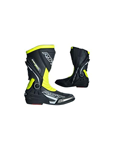 Rst Motorcycle - RST 2101 TracTech Evo III Sport CE Unisex Motorcycle Boots - Yellow 12 47