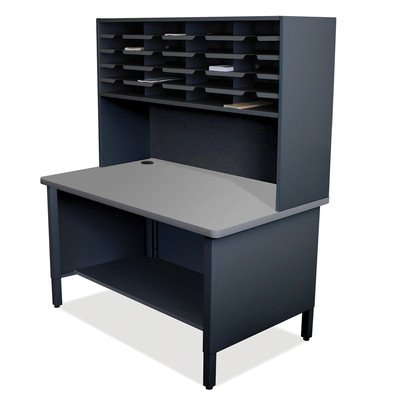 Mailroom 20 Slot Organizer Finish: Black