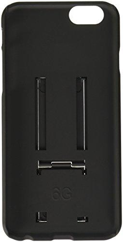 BoxWave Schutzhülle für Apple iPhone 6, Case, Holster, Schutzhülle für Apple iPhone 6, 3 in 1: Hülle, Halfter und Gürtelclip, inkl. integriertem Ständer, Schwarz