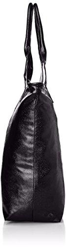 Le Temps des Cerises Bronze 2 - Bolso Tote Mujer Noir (Noir/Argent 3Q26)