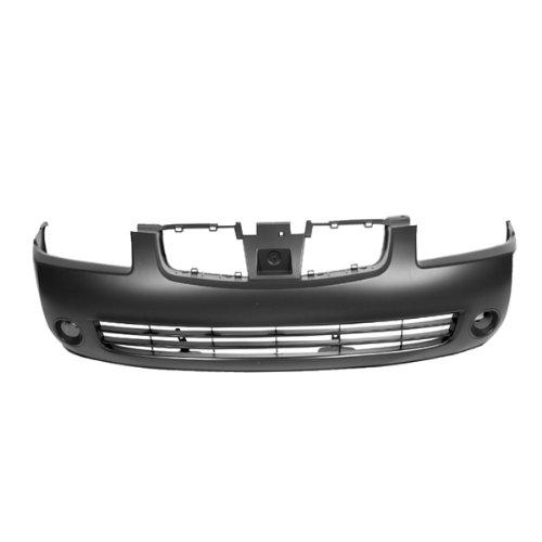 - CarPartsDepot 352-36155-10-Pm, Bumper Cover Assembly Front Black NI1000216 F20226Z525