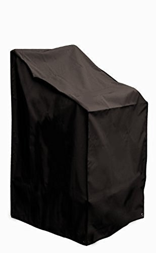 Direct Wicker 65 x 85 x 120 / 80 cm Waterproof Seat Cover - Garden Chair / Stacking Chair Cover Protective Cover