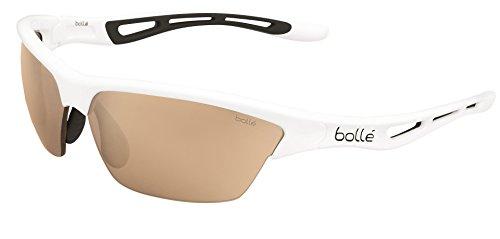 Bolle Tempest Sunglasses, Shiny White Frame, Modulator Lens