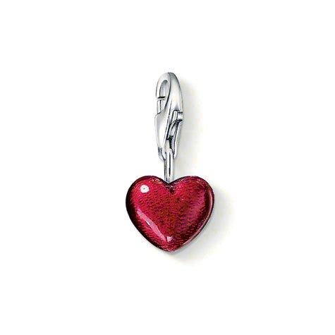 Thomas Sabo Heart Charm, Sterling Silver (Sabo Thomas Jewellery)