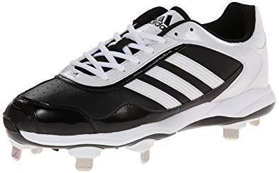(adidas New Performance 9 Blk/Wht Women's Abbott Pro Metal 2 Softball Cleat)