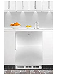 Summit VT65ML7BISSHVADA Upright Freezer, Stainless Steel