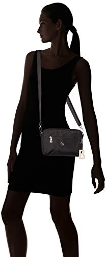 Bogner Hombro Mujer black Verbier Shz Pukie Shoulderbag De Negro Bolsa rrwY6O
