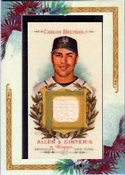 2007 Topps Allen and Ginter Relics #CB Carlos Beltran Bat (Carlos Beltran Bat)