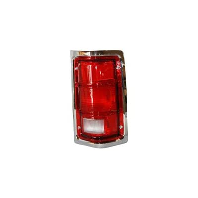 TYC 11-5059-01 Compatible with DODGE Pickup Passenger Side Replacement Tail Light Assembly: Automotive