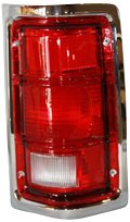 TYC 11-5059-01 Dodge Pickup Passenger Side Replacement Tail Light Assembly