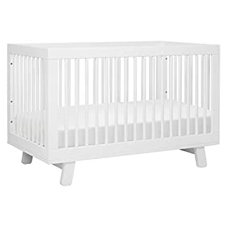 Delight in mid-century modern appeal with the Hudson 3-in-1 Convertible Crib. Featuring stylish rounded spindles and an open modern silhouette, the best-selling Hudson Crib is made with non-toxic materials backed with GREENGUARD Gold certification. A...