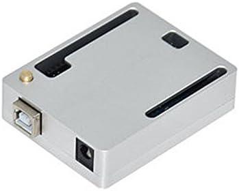 SODIAL Caja Protectora CNC Caja portatil Soporte GPIO Cable de Cinta para Arduino UNO R3 (Plata): Amazon.es: Electrónica