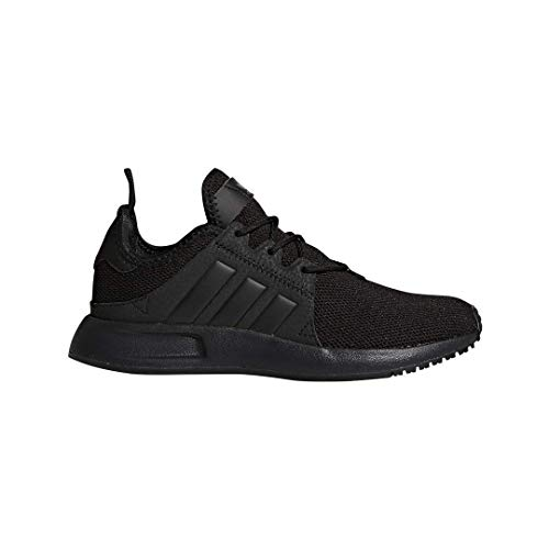 adidas Originals Kids Unisex's X_PLR Sneaker, Black/Black/Black, 4 Medium US Big Kid