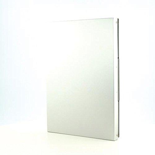 A4 internal clipboard laterally opening Westcott E-17004 00 Aluminium form holder box