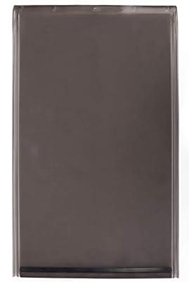 "Large Replacement Dog Door Flap Compatible with PetSafe Freedom Doggie Doors - Weather Resistant - Measures 10 1/8"" x 16 7/8"" Made from flexible, durable, weather resistant materials- Doggie Door Flap"