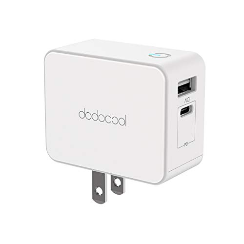 dodocool USB C Charger with 30W Power Delivery, ETL USB Type C Wall Charger for Nintendo Switch/MacBook/iPad Pro 2018/iPhone XS/XS Max/XR, Samsung S9+/Note8 and More