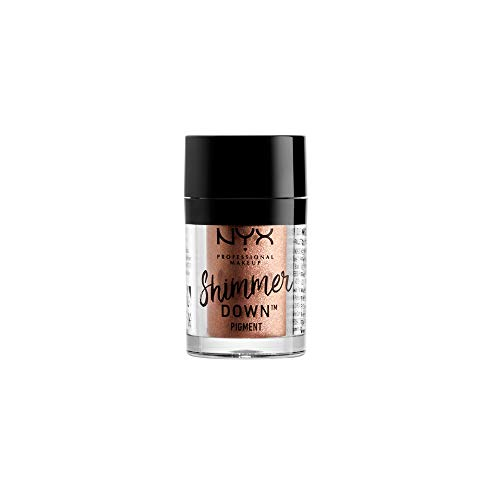 NYX PROFESSIONAL MAKEUP Shimmer Down Pigment, Nude, 0.0519 Ounce