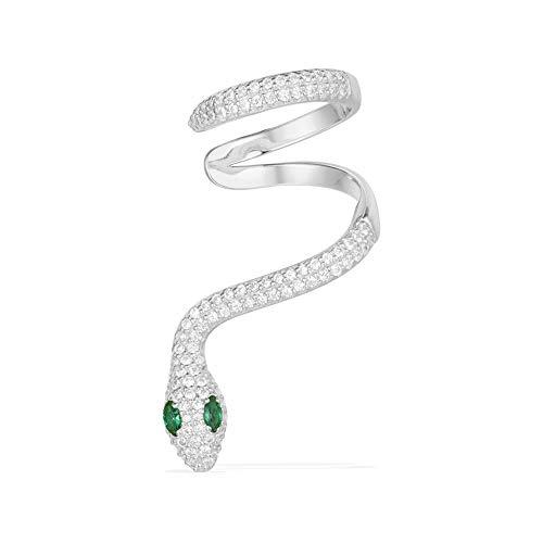 (OULVNUO Snake Ear Climber Earrings Unisex Dangle Ear Thai Crawler Cuff Earrings(one piece) ¡)