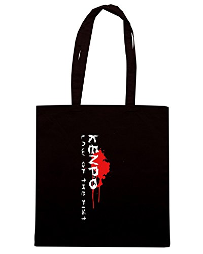 T-Shirtshock - Borsa Shopping TAM0024 dark kenpo tshirt Nero