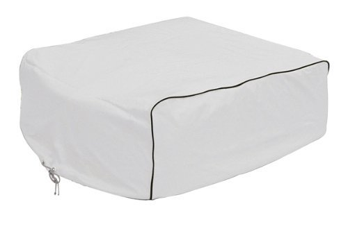 Classic Accessories 77410 RV AC Cover, White, For Coleman Mach I, II & III, Mach 3 Plus, Mach 15, Roughneck & TSR by Classic Accessories