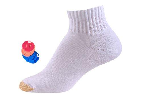 Quarter 6 Pack Athletic Socks - 7
