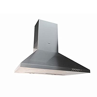 "Range Hood Wall Mounted Stainless Steel 30"" CH-105-CS NT AIR. Made in Italy."