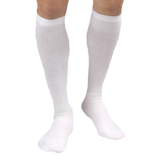 Activa CoolMax Unisex Athletic Knee High Support Socks 20-30 mmHg Small