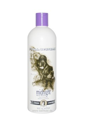 '# 1 All Systems Ravive les Couleurs RISCH Ender chien econd itioner pour fourrure et noir/color Enhancing Botanical Après-shampoing Midnight grise (473 ml) #1 All Systems
