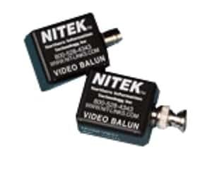 Nitek - VB37M - Video Balun Transceiver-up To 1000 Feet - Male Bnc Conn.