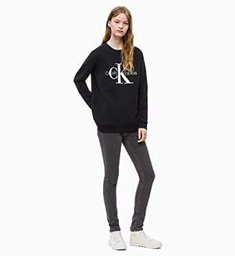 Calvin Klein Jeans Women's Logo Sweatshirt, Assorted, XS