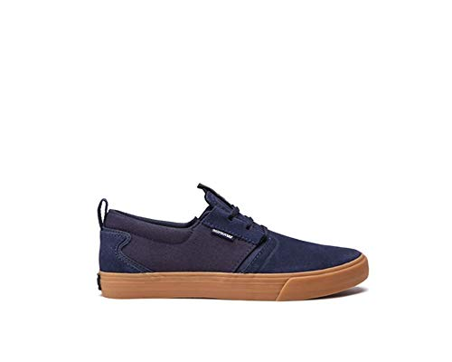 Navy gum Shoes Flow Supra Skate Mens ASq6gOTwx